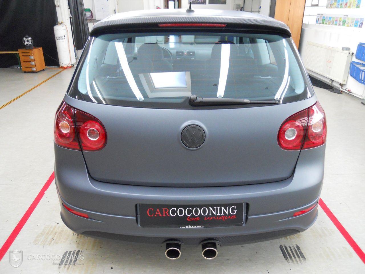 Folierung Eines Vw Golf 5 R32 Volkswagen Volkswagen Golf Golf