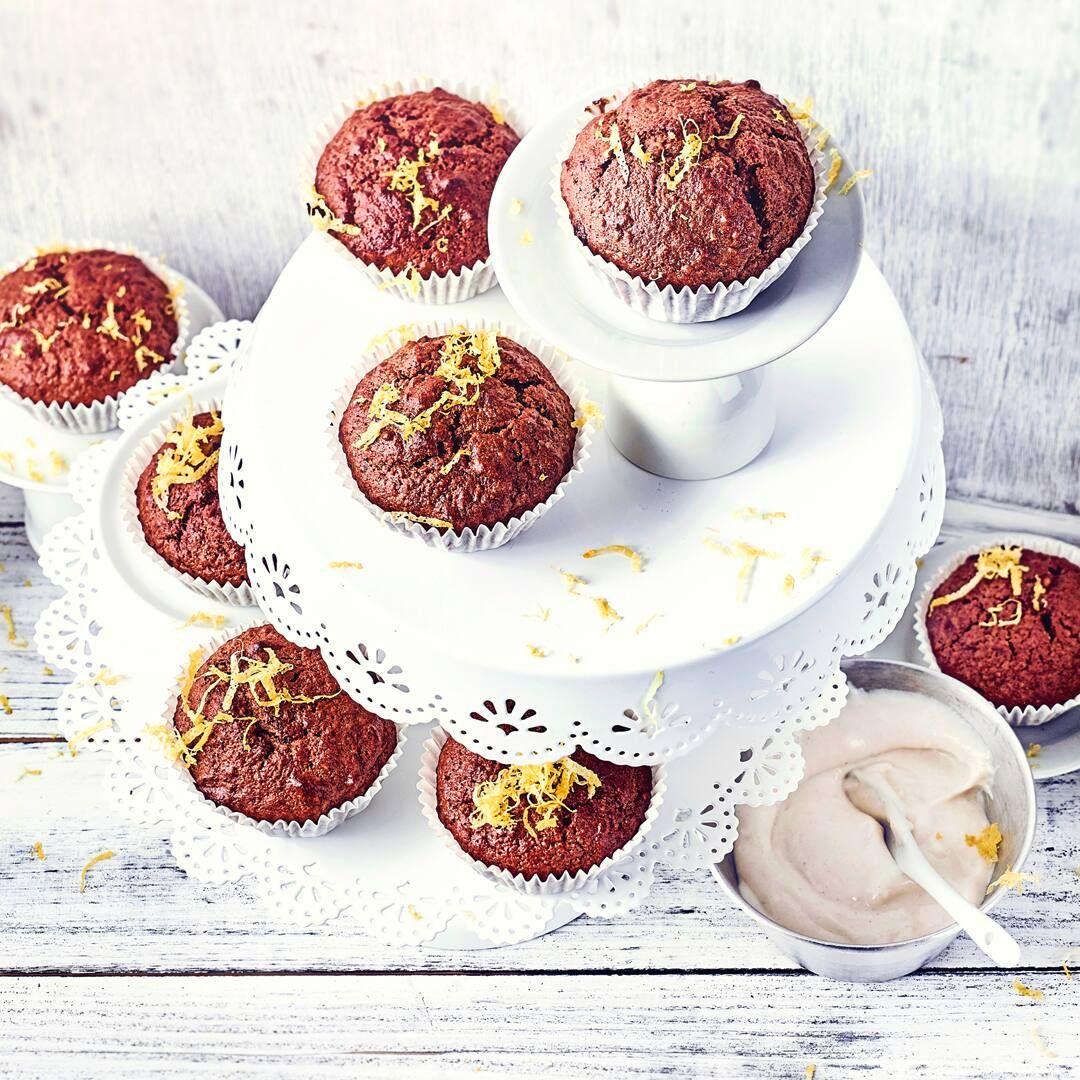 Bananen Dattel Muffins Rezept Lebensmittel Essen Kirschmuffins Rezepte