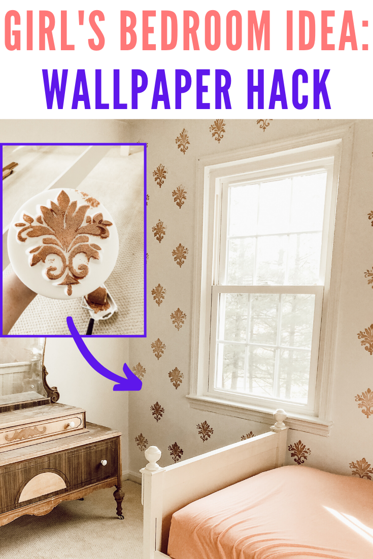 Diy Wallpaper Using Paint A Foam Stamp Marly Dice Diy Wallpaper Frugal Decor Wallpaper Project