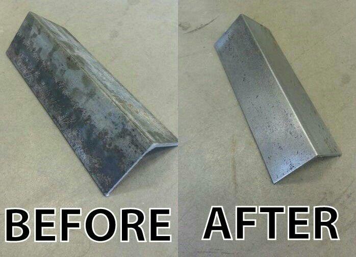 Clean Steel Without Sandblasting Crafts Diy