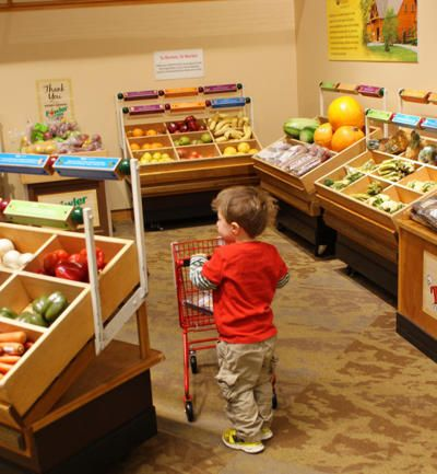 Learning about Grocery Shopping: Strong Museum Wegmans
