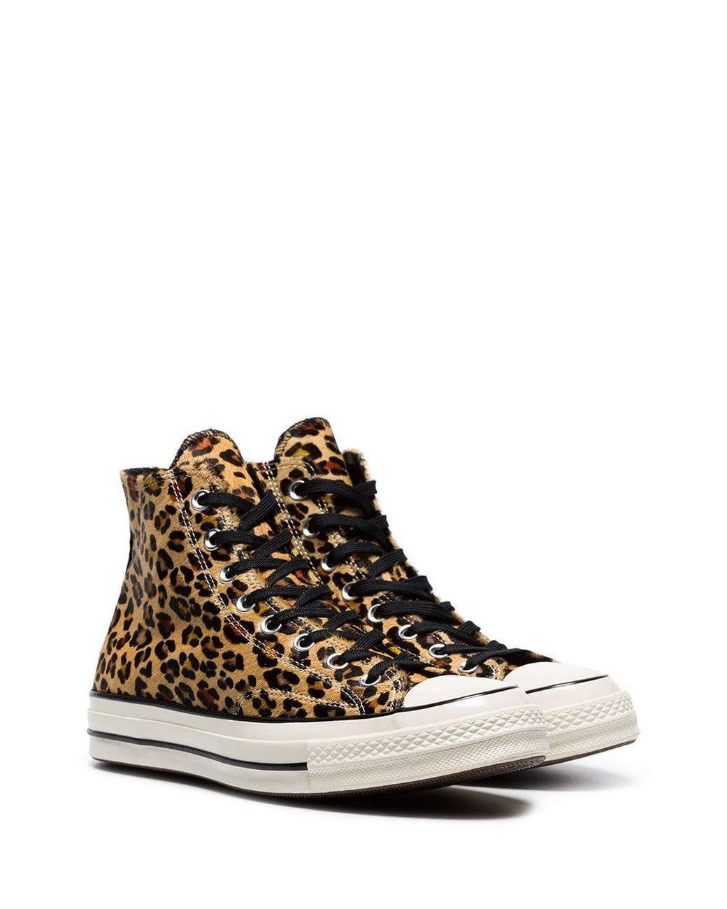 Converse Multicolor Leopard Print Chuck