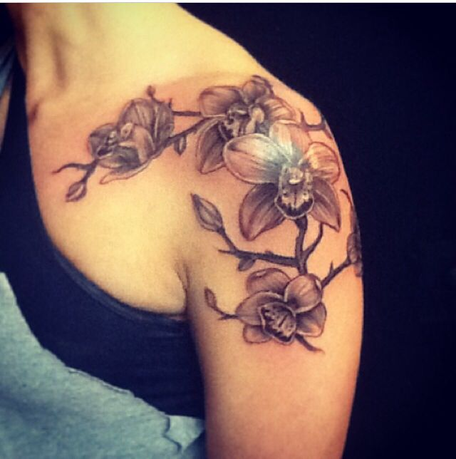 Shoulder Tattoo, Tattoos, Shoulder