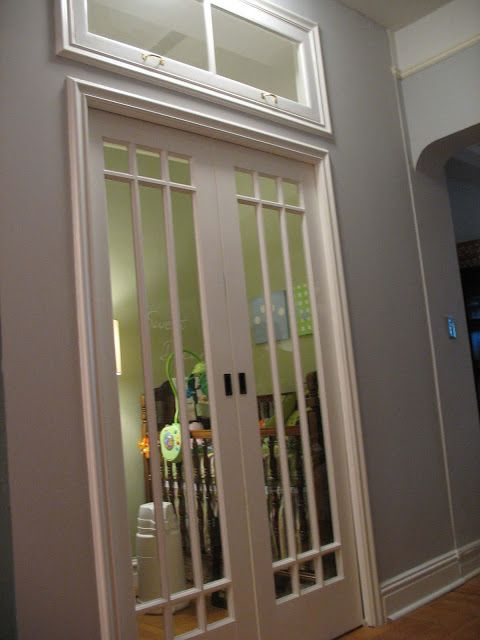 French Doors On A Nursery Love French Pocket Doors