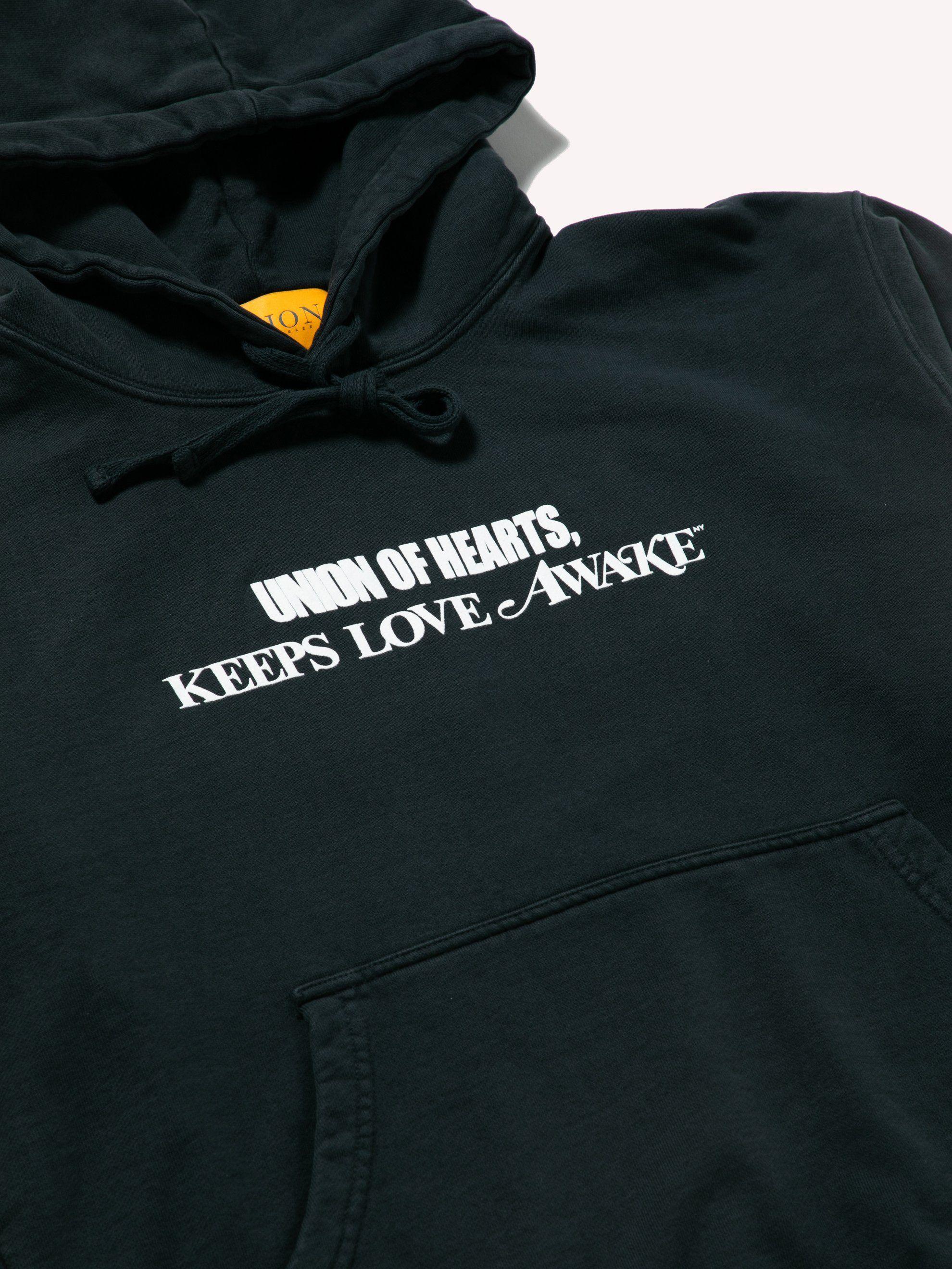 Buy Union Los Angeles U Wake Hoodie Online At Union Los Angeles Hoodies Apparel Design Streetwear Brands