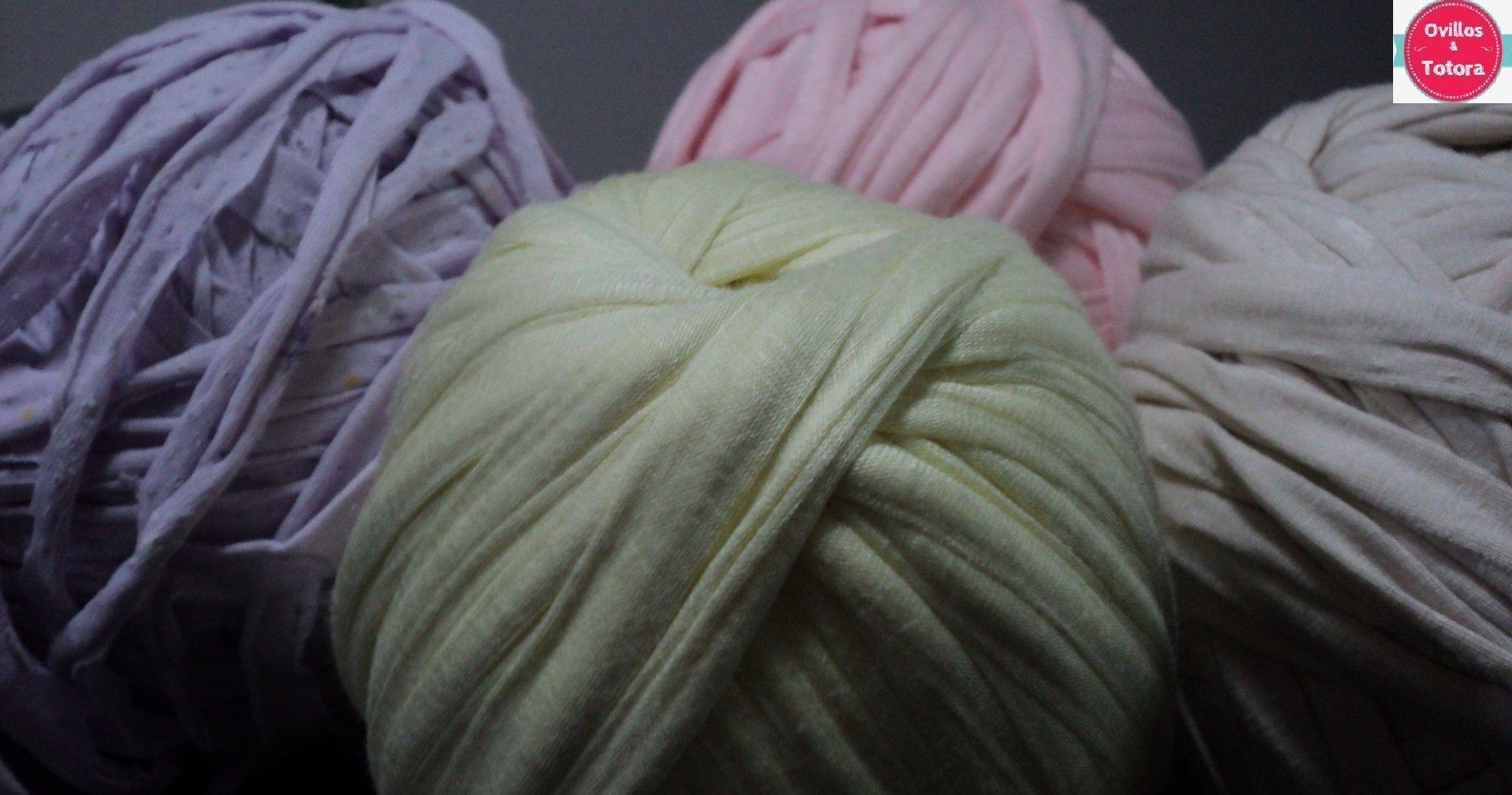 Totora tonos pastel