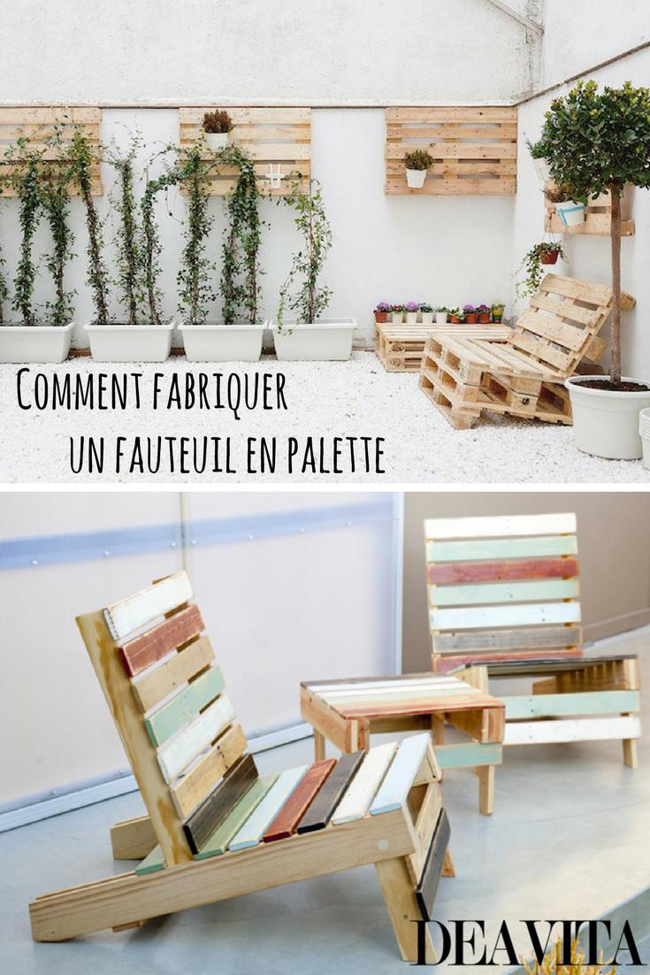 Comment Fabriquer Un Fauteuil En Palette Pour Personnaliser Son Espace Fauteuil Palettes Palette Fauteuil