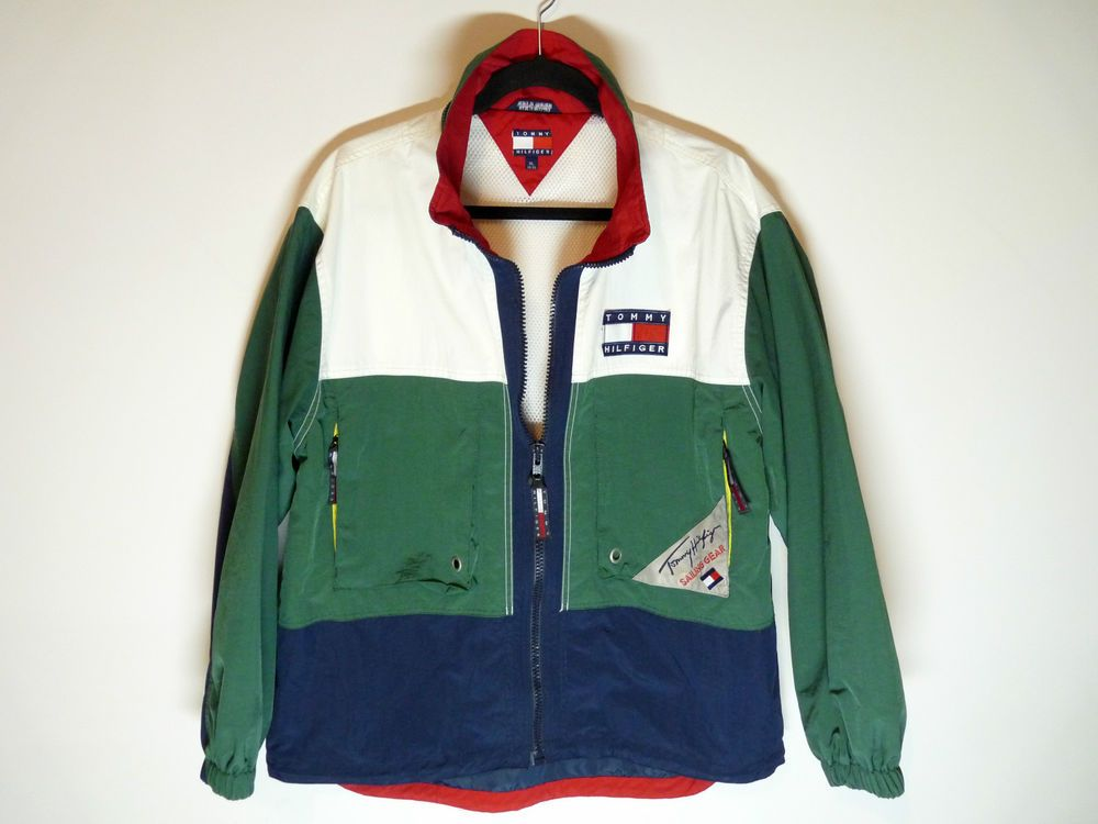 Vintage Tommy Hilfiger Sailing Gear jacket - Mint - Men medium   Youth XL 0fda1c47af