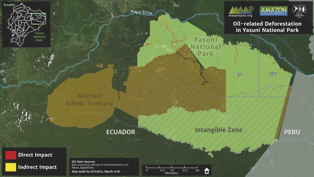 Ecuador S Yasuni National Park Faces Mounting Deforestation From