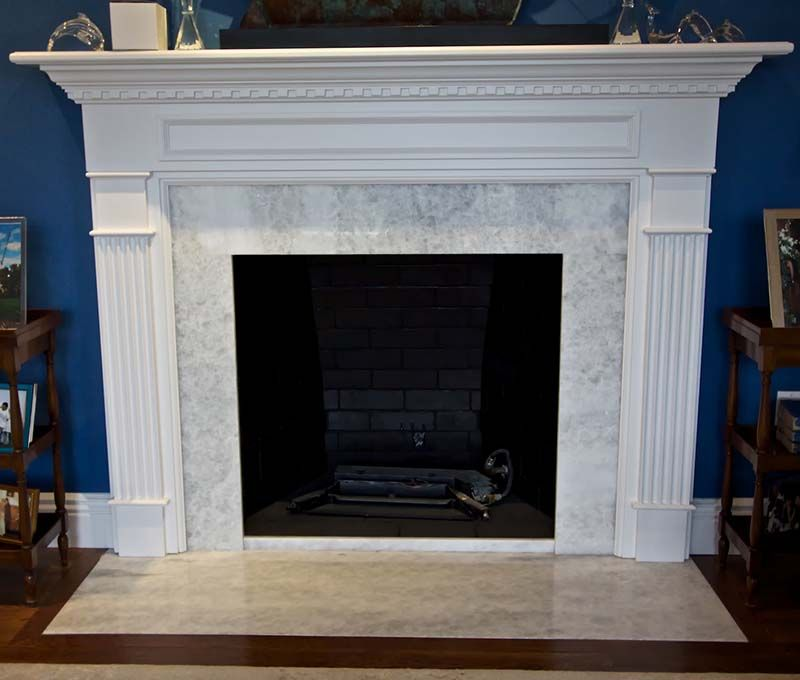 Ideal for Fireplace Surrounds and nearly any application Quartz is durable versatile low