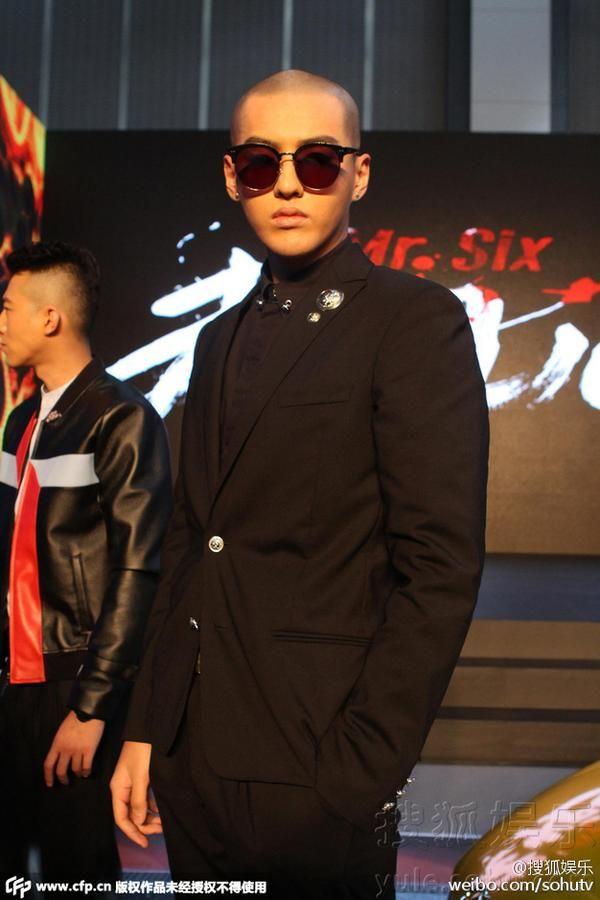 Photo Kris Goes Bald Omg Going Bald Balding Kris Wu