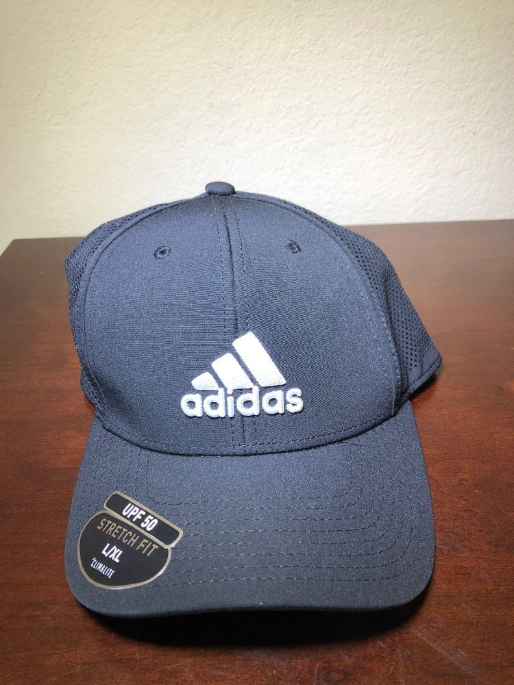 113e3cf6 adidas Men's Adizero Scrimmage Stretch Fit Cap Black/White Large/X-Large  #fashion #clothing #shoes #accessories #mensaccessories #hats (ebay link)