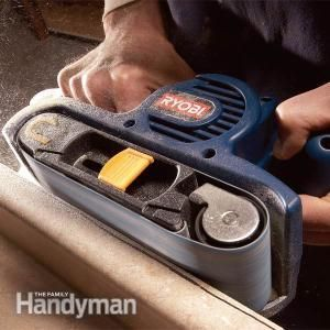 Everything To Know About Belt Sanders Used Woodworking Tools Woodworking Tips Learn Woodworking