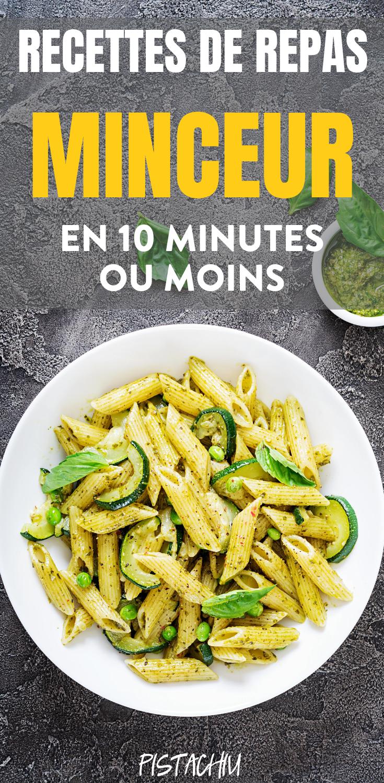 Recettes De Repas Minceur En 10 Minutes Ou Moins