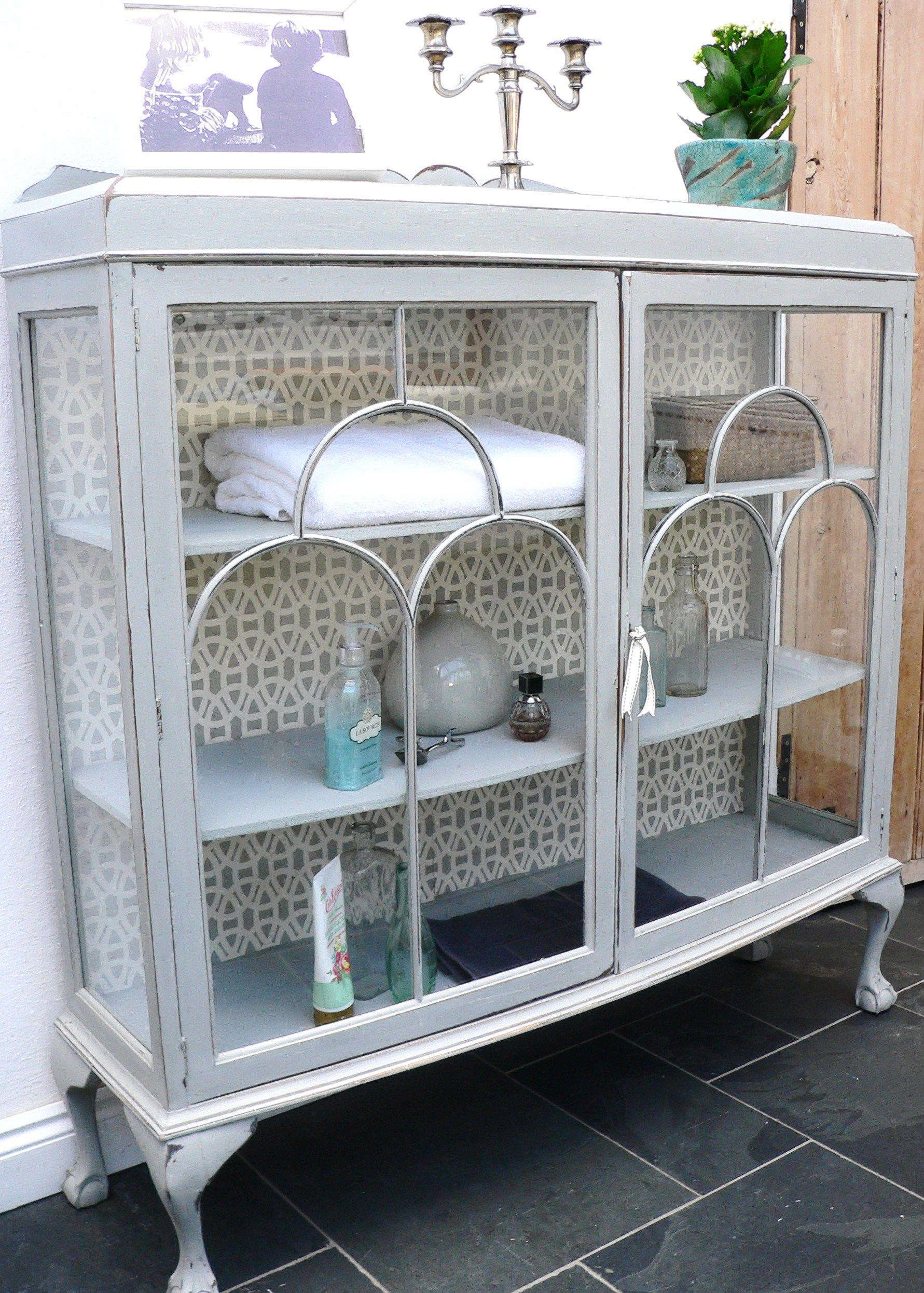 Vintage bathroom storage cabinets - Vintage Painted Furniture Wales Vale Of Glamorgan Victorian Cabinet Vintage Painted Furniture