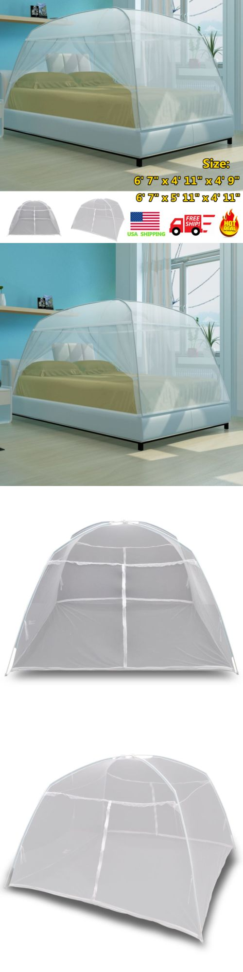 Canopies And Netting 48090 White Canopy Mongolia Net Mosquito Mesh Tent Net Indoor Outdoor Camping Large Buy It Now O Kids Canopy Canopy Outdoor Diy Canopy