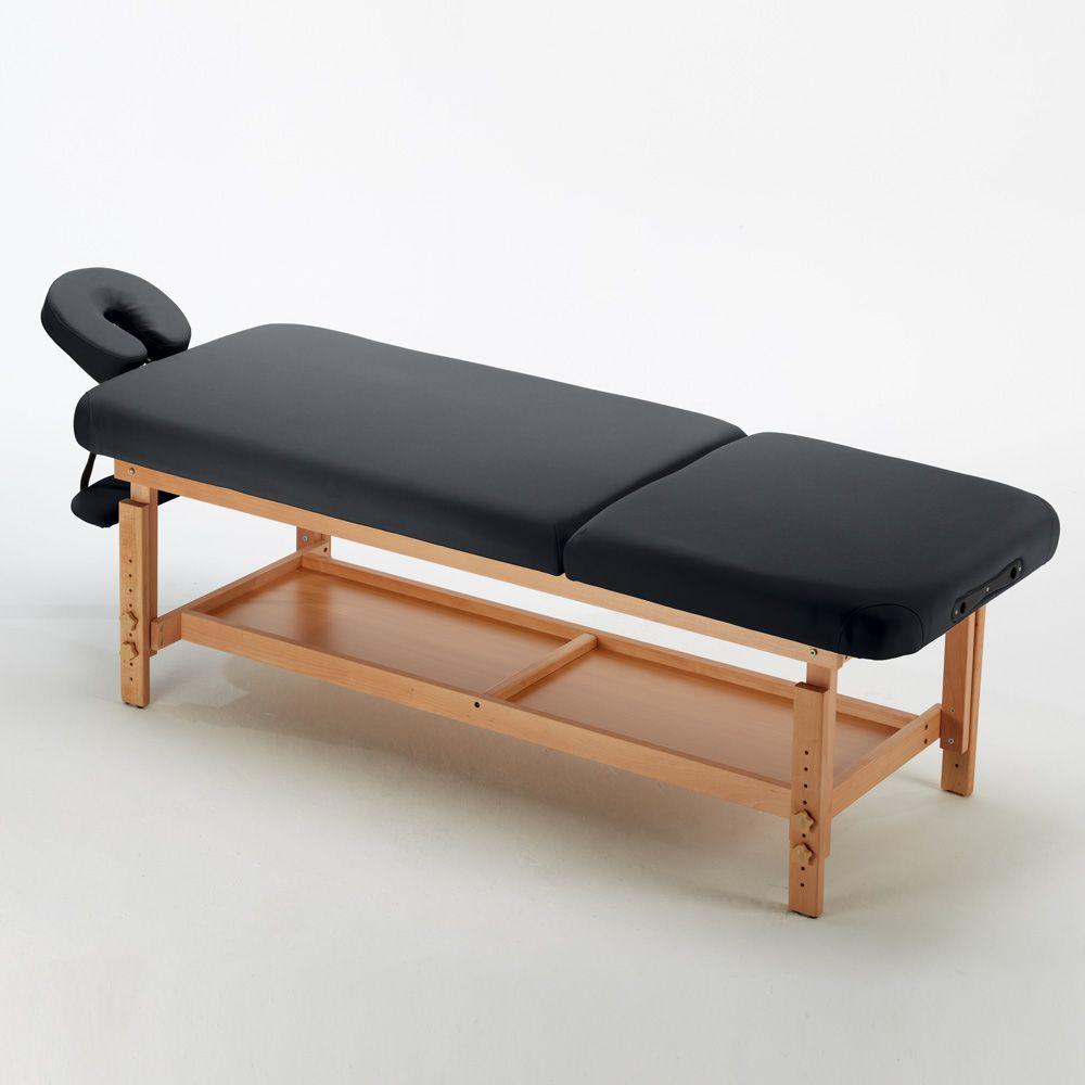 Lettino Massaggio Fisso Legno.Lettino Da Massaggio In Legno Fisso Professionale 225 Cm Comfort