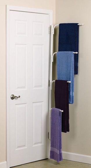 Bathroom Towel Storage Ideas 14 Smart And Easy Ways Almacenamiento De Toalla De Bano Colgador De Toallas Remodelar Banos