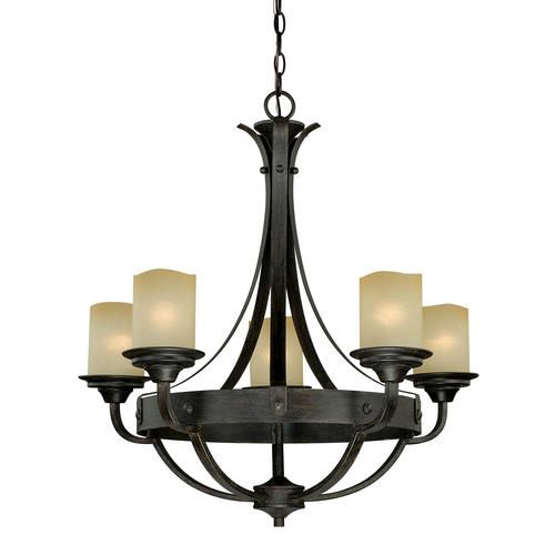 Oakland 5 light 27 reclaimed wood chandelier at menards kitchen light