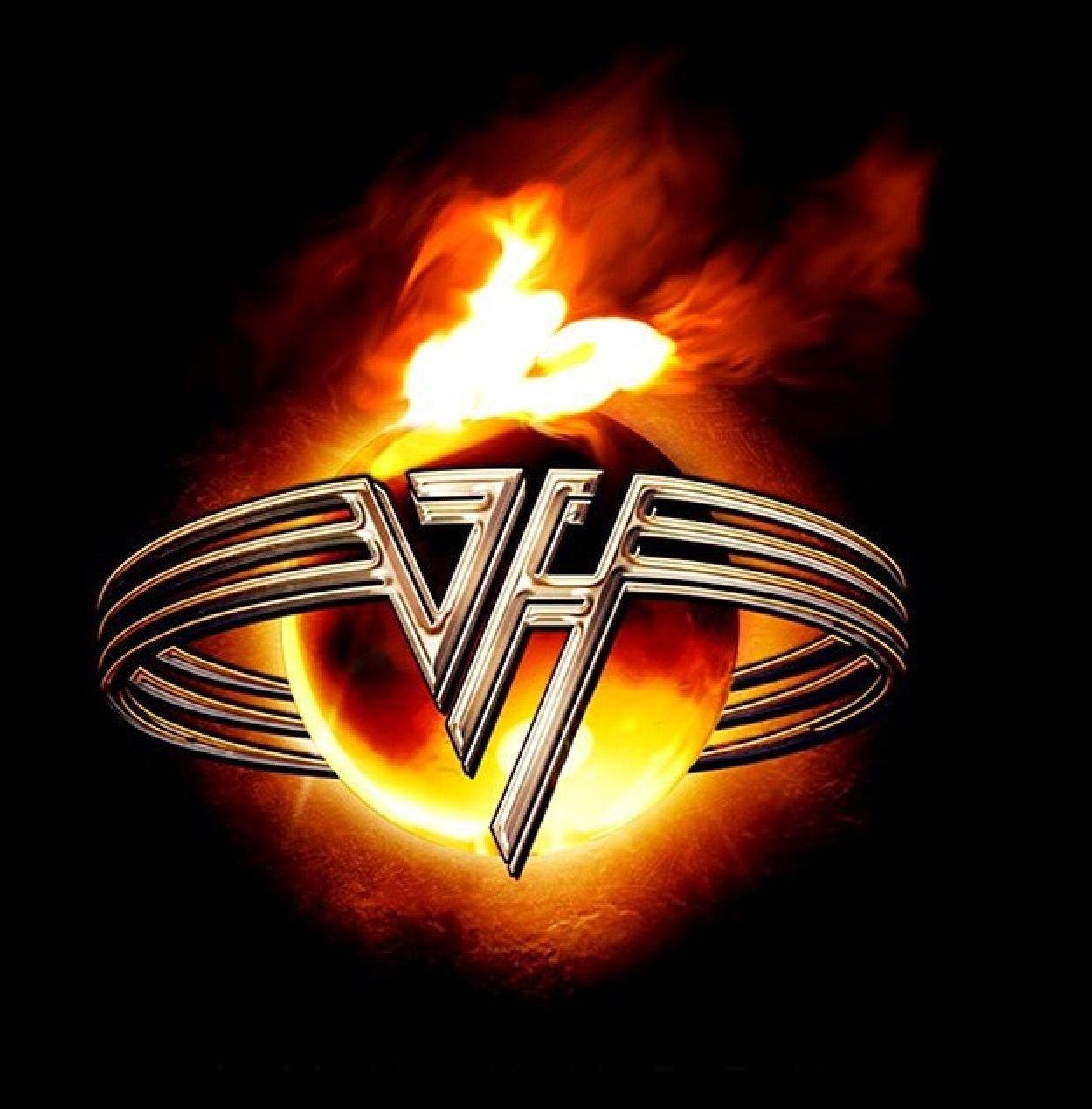 Pin By Rodrigo Molina On Eddie Van Halen Rock Band Logos Van Halen Van Halen Logo