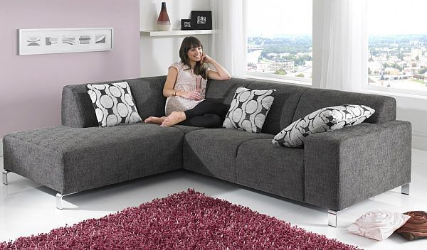 Couch l form modern  7 Modern L Shaped Sofa Designs for Your Living Room | L shaped ...