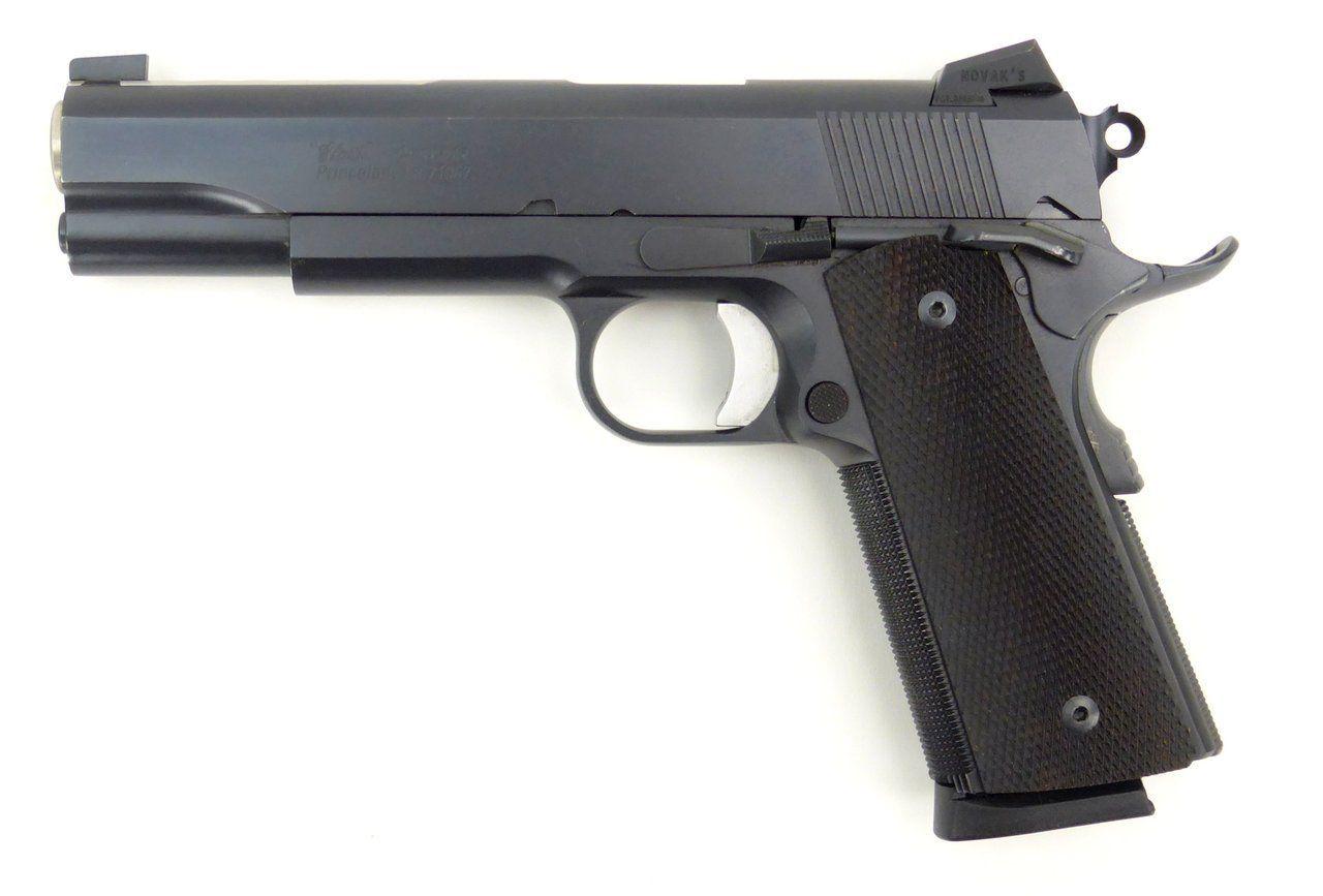 Clark Custom Caspian 1911 .45 ACP caliber pistol. Clark Custom 5 ...