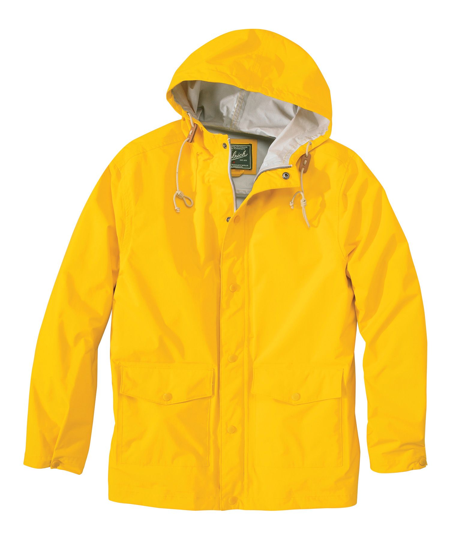 Men's Classic Waterproof Rain Slicker | Woolrich | .style_SS14 ...