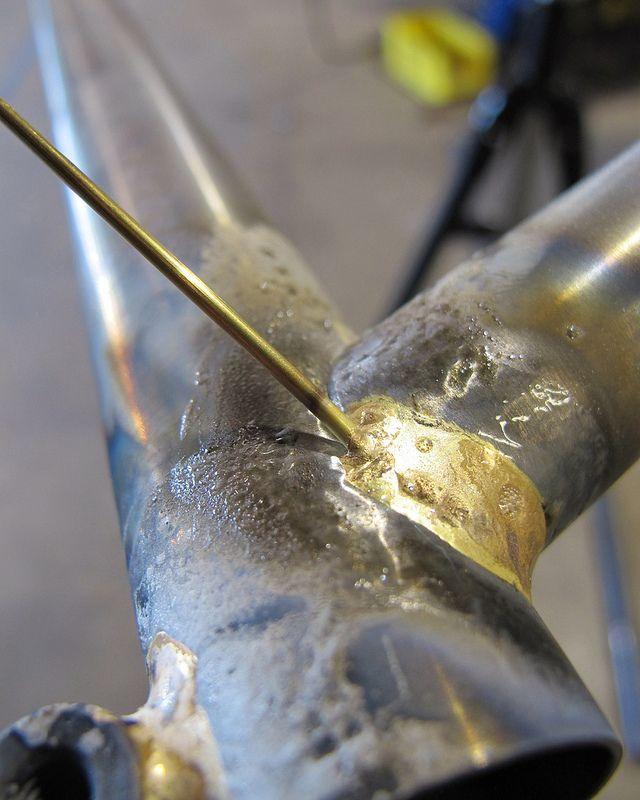 Fillet Brazing Bike Steel Bike Frames Brazing