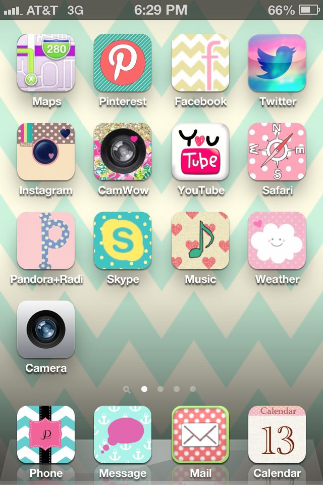 Such a cool app!!! Decorate your iPhone apps & wallpaper @ CocoPPa | Cool Apps | Cute app ...