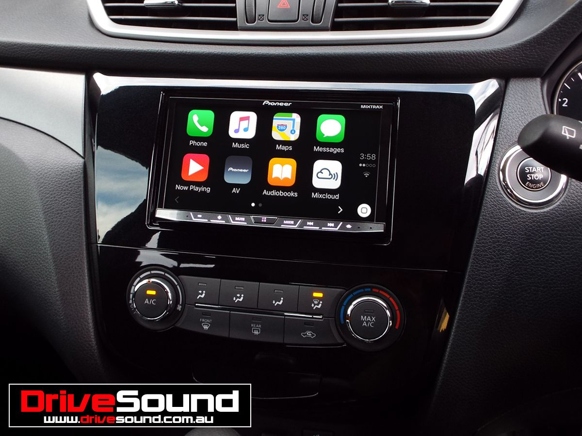 Nissan XTrail with Apple CarPlay installed by DriveSound