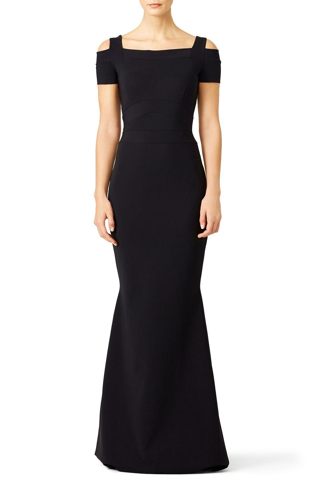 2dbb2b24 La Petite Robe di Chiara Boni Black Jenna Gown | Gala | Petite ...