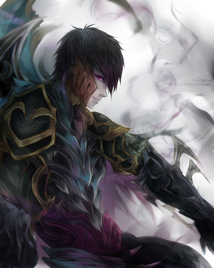ArtStation - Unmasked Zed II, Joelin Tan