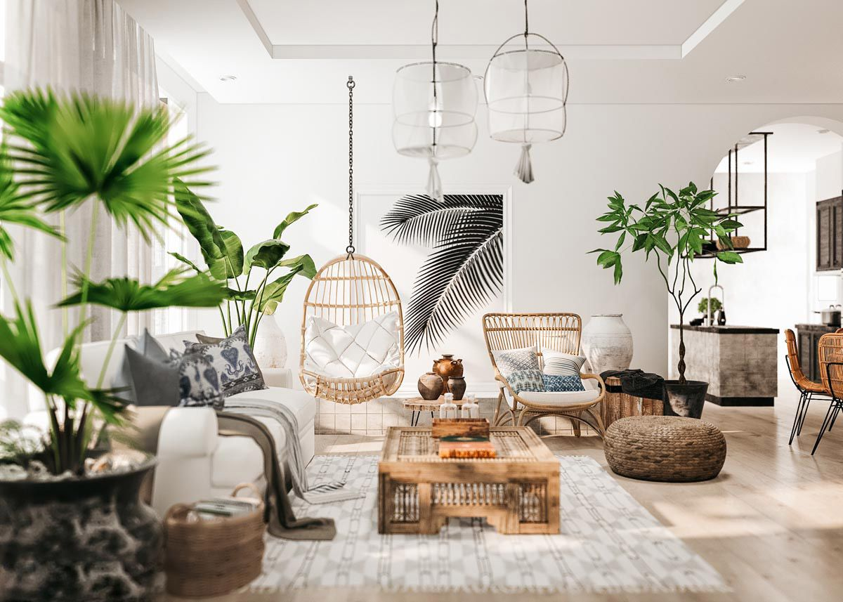 Detailed Guide & Inspiration For Designing A Rustic Living Room in