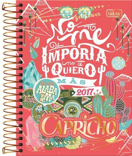 Agenda Espiral Diária Capricho Mais Capricho Caderno, Material Escolar Da  Capricho ... bf08a42b68