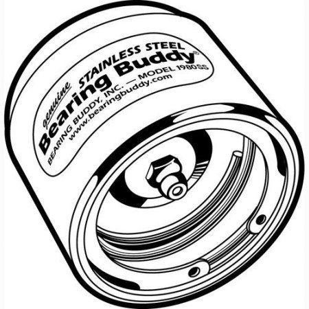 Bearing Buddy Stainless Steel Trailer Wheel Bearing Protector 2