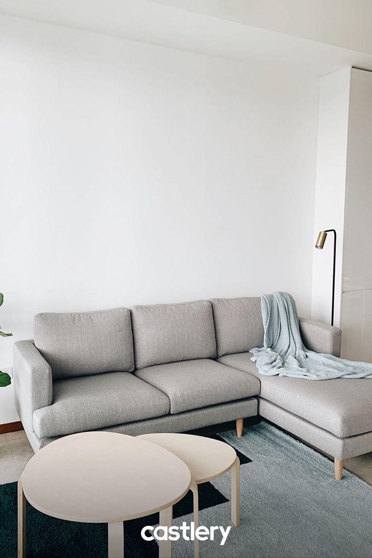Tana Sectional Sofa Light Gray Left Facing Castlery Sectional Sofa Living Room Sectional Sectional