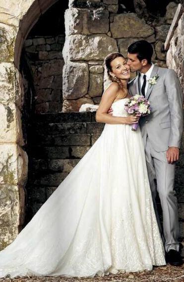 Love Wedding Jelena Djokovic Tennis World Novak Djokovic
