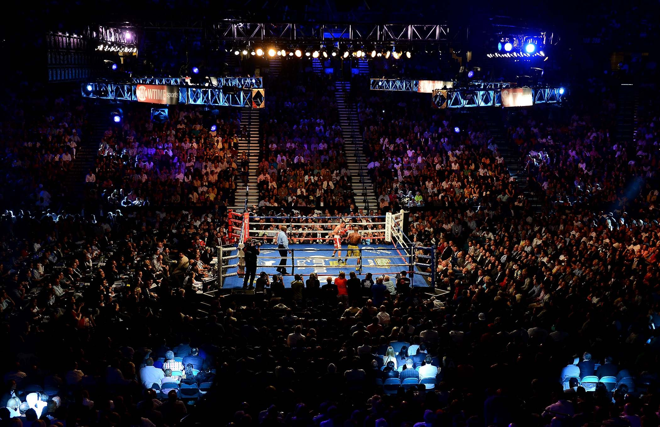 Mayweather vs Maidana 2September 13 2014 MGM Grand Garden