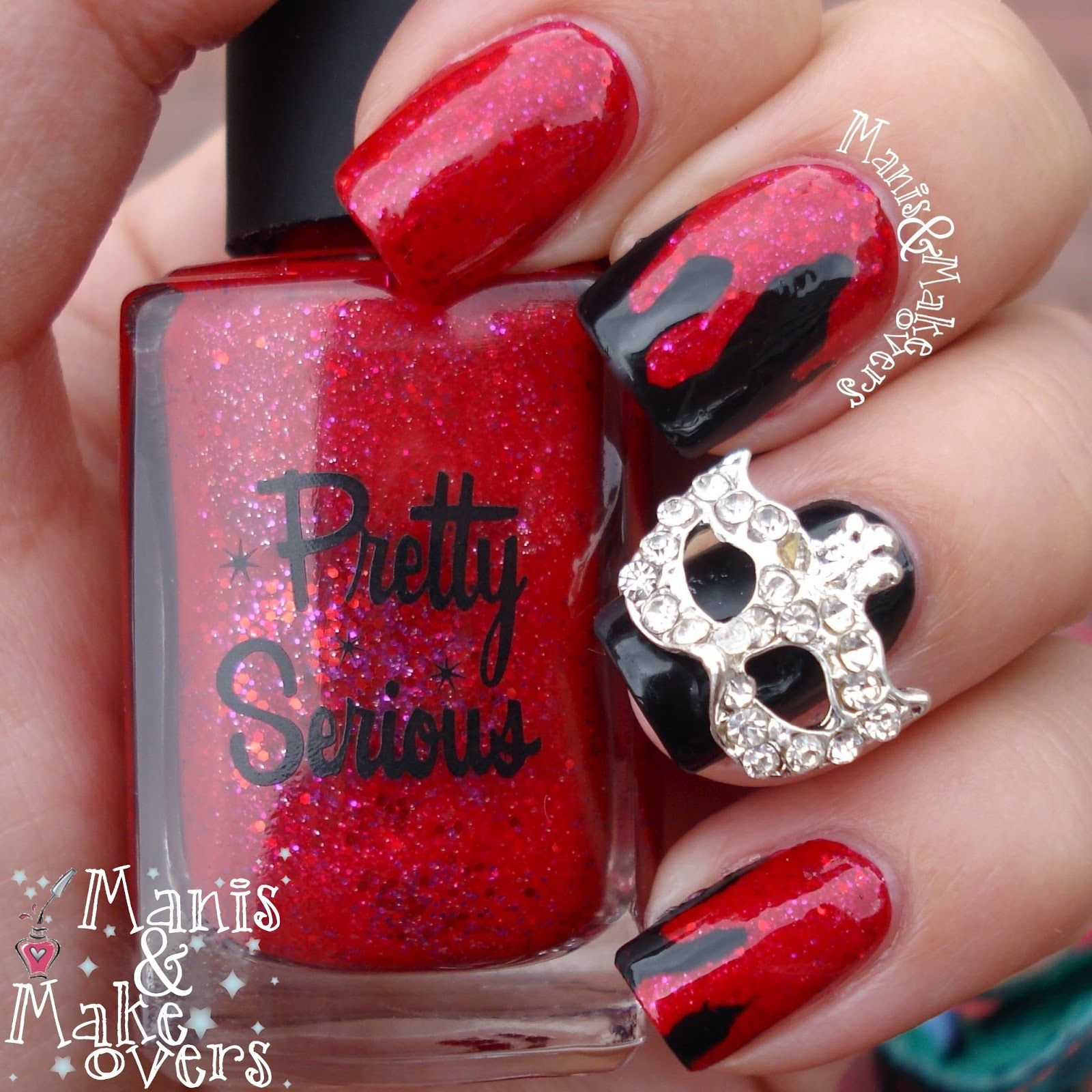 """Manis & Makeovers: #RedCoatTuesday - Pretty Serious """"Viscous Vampire"""""""
