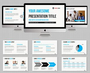 ULTIMATE Professional PowerPoint Template. A versatile PowerPoint ...