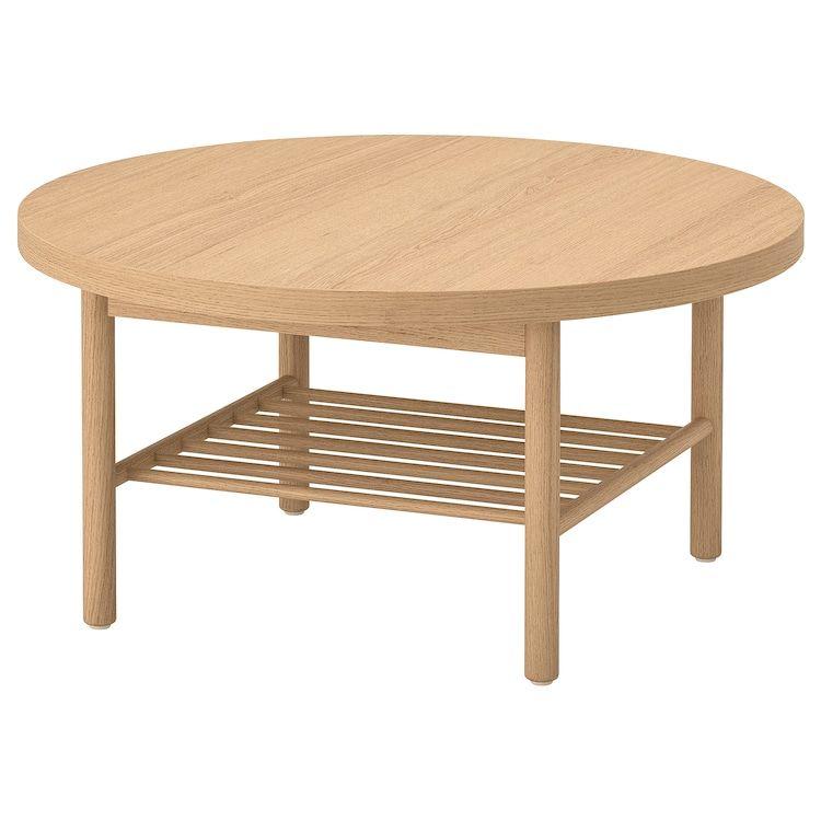 Ikea Listerby White Stained Oak Coffee Table Ikea Coffee Table