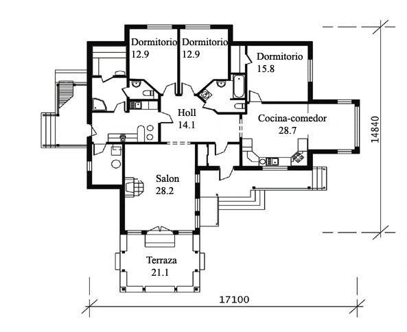 Casas prefabricadas precios y modelos buscar con google - Casa prefabricadas precios ...