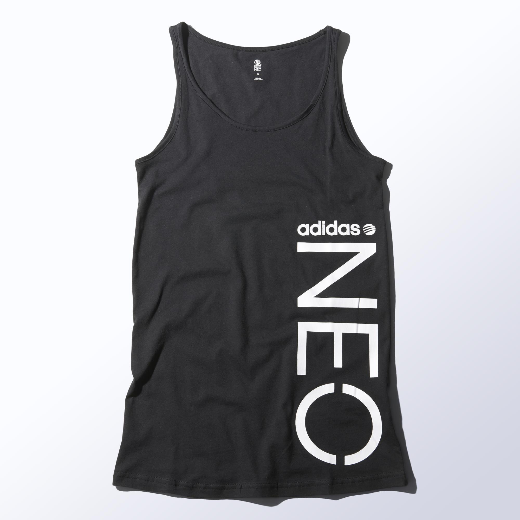 adidas Long Logo Tank Top Tops, Athletic tank tops