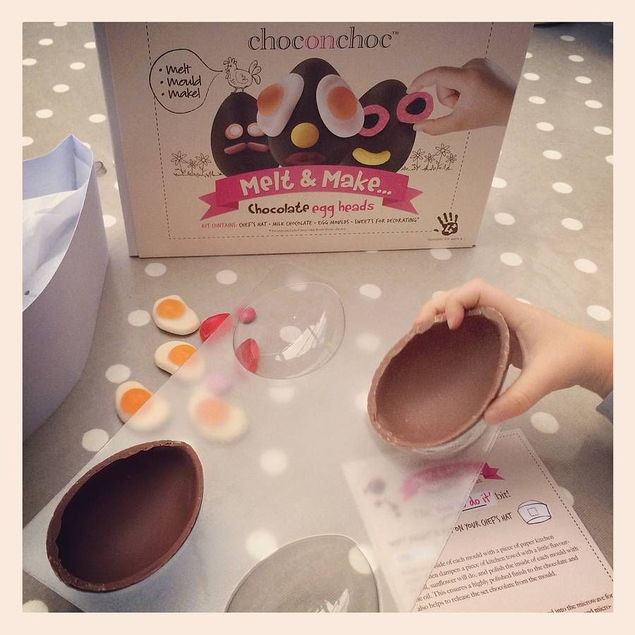 Make your own chocolate egg easter make your own chocolate egg easter treatseaster giftchocolate negle Images