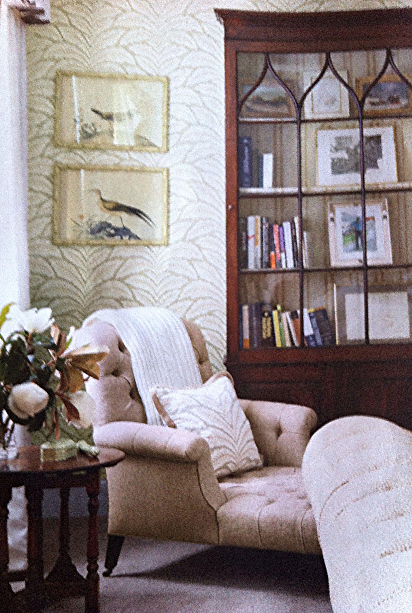 Brunschwig Fils Talavera Wallpaper Room Colors Home Decor Talavera Wallpaper