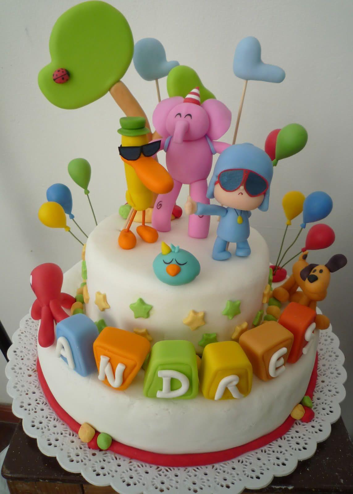 Torta de pocoyo buscar con google fiesta pinterest - Decoraciones de pisos ...