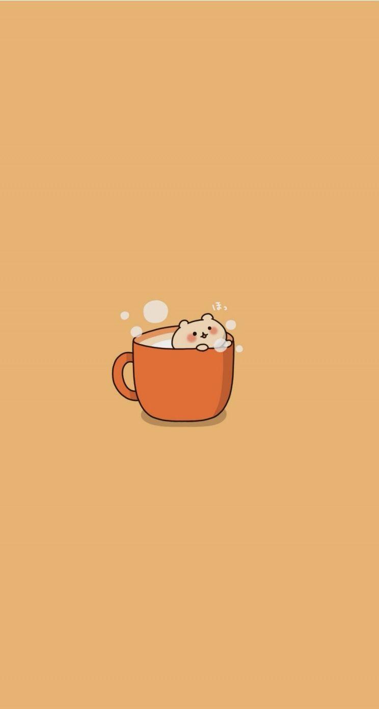 Cute Bear Chibi Wallpaper Cute Iphone Wallpaper Tumblr Cute Cartoon Wallpapers