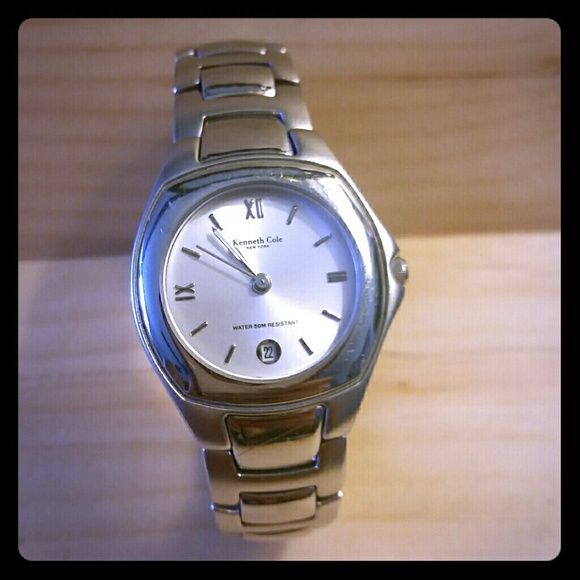 Women's Kenneth Cole Watch Stainless Steel Kenneth Cole watch.  Great for work or play.  Water resistant up to 50 meters. Kenneth Cole Accessories Watches