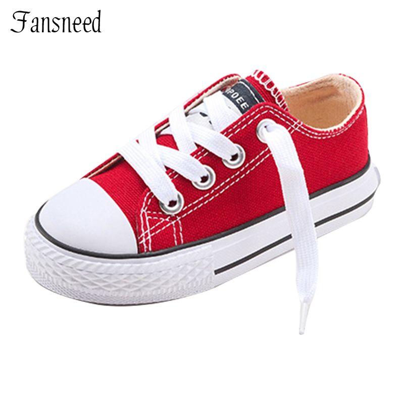 113739d30781 2017 New Classic Children Shoes Girls Boys Canvas Kids Sneakers Tendon  Casual Shoes Solid Color Chaussures Garcon Enfant
