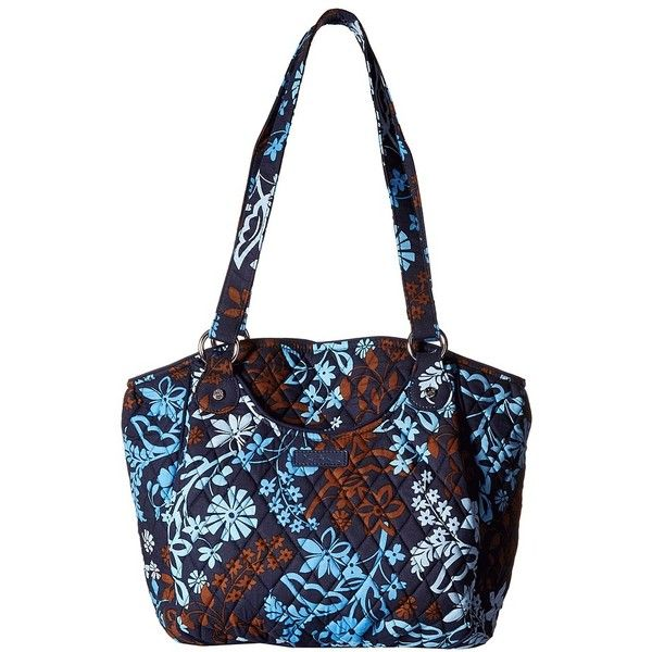 Vera Bradley Glenna (Java Floral) Tote Handbags ($80) ❤ liked on ... : quilted floral tote bags - Adamdwight.com